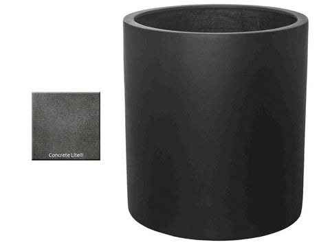ML 2830 Round Planter Container in Concrete Lite® - Outdoor Art Pros