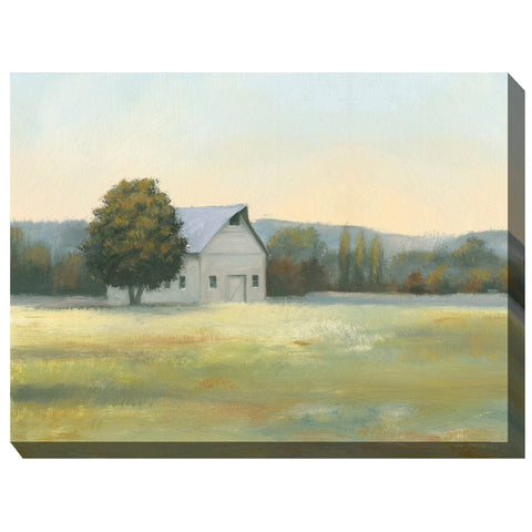 Morning Farm Outdoor Canvas Art - Outdoor Art Pros