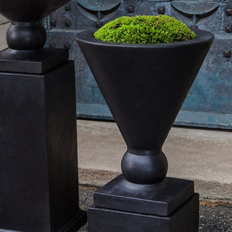 Manhattan Urn Garden Planter - Outdoor Art Pros