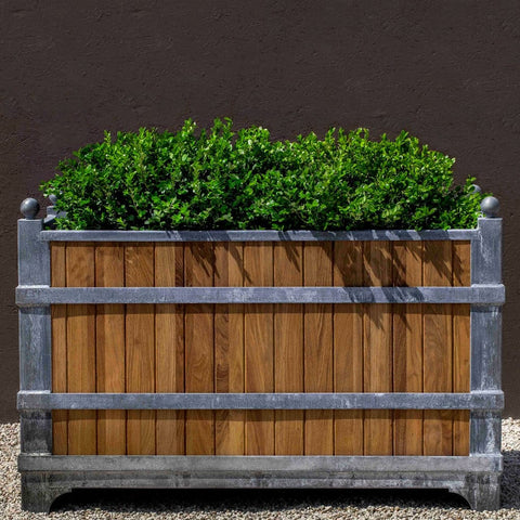 Manoir Oak Rectangle Planter - Outdoor Art Pros