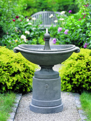 Medici Ellipse Garden Water Fountain - Outdoor Art Pros