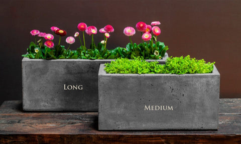 Medium Geo Planter - Outdoor Art Pros