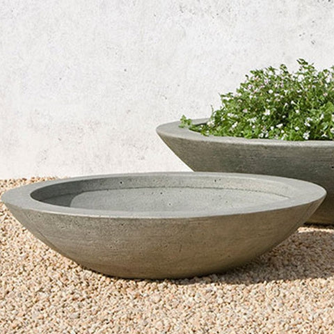 Low Zen Medium Planter Bowl - Set of 2 - Outdoor Art Pros