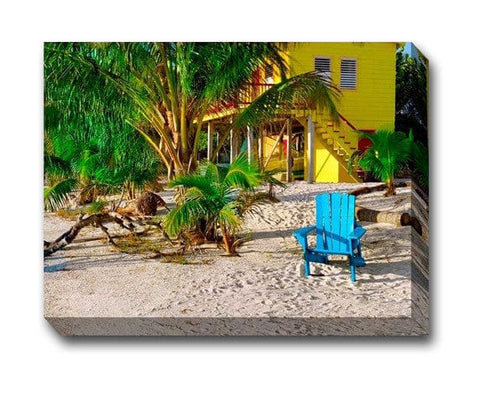 Morning Blue Outdoor Canvas Art
