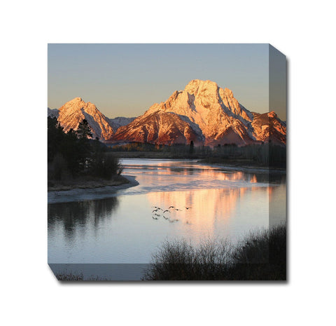 Morning Flight Outdoor Canvas Art