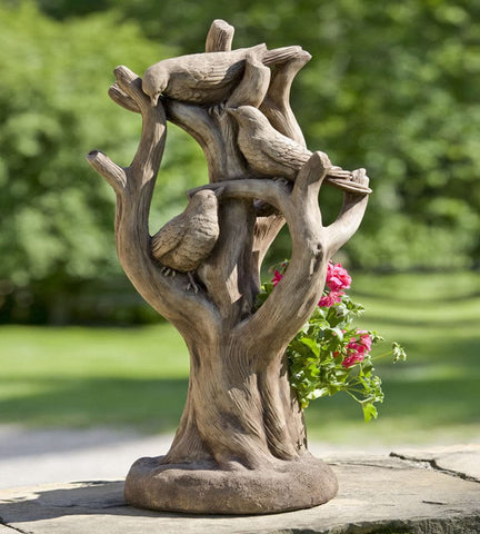 Morning Gossip Garden Planter - Outdoor Art Pros