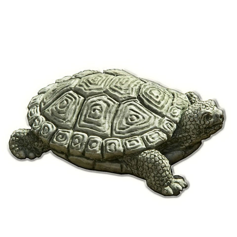 My Pet Turtle Cast Stone Garden Statue   Outdoor Art Pros