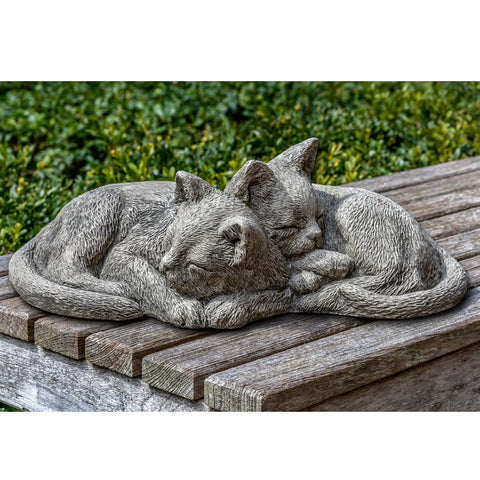 Nap Time Kittens Garden Statue - Outdoor Art Pros