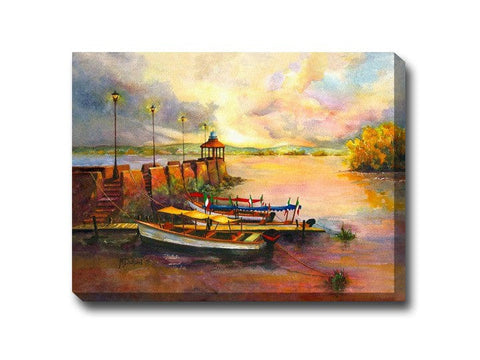 Nighty Night Outdoor Canvas Art