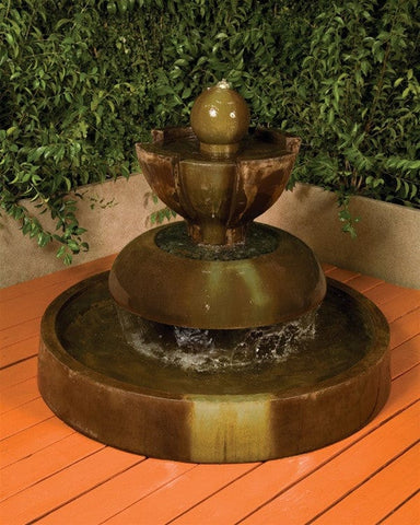Nova Garden Water Fountain - Fountains - Outdoor Art Pros