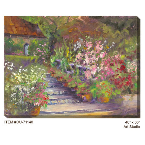 Art Studio Outdoor Canvas Art - Outdoor Art Pros