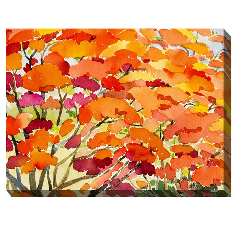 Blaze #2 Outdoor Canvas Art - Outdoor Art Pros
