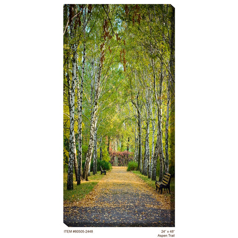 Aspen Trail #2 Outdoor Canvas Art - Outdoor Art Pros