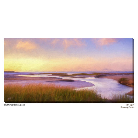 Breaking Dawn Outdoor Canvas Art - Outdoor Art Pros