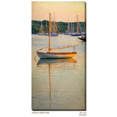 Anchored Outdoor Canvas Art - Outdoor Art Pros
