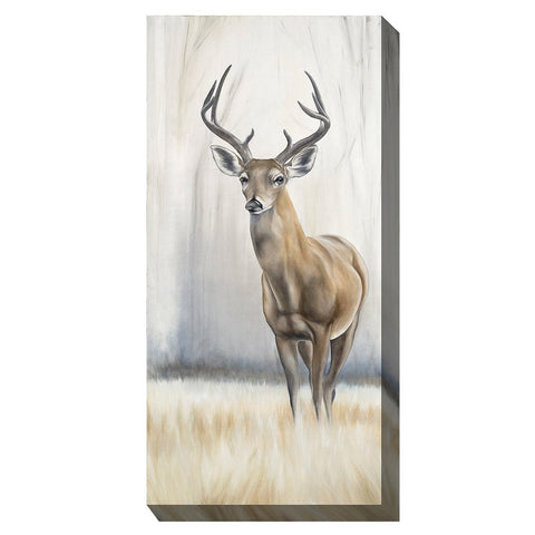 Eight Point Deer Outdoor Canvas Art - Outdoor Art Pros