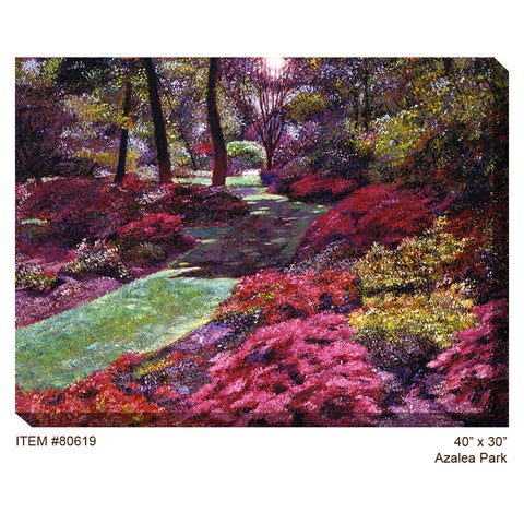 Azalea Park Outdoor Canvas Art - Outdoor Art Pros