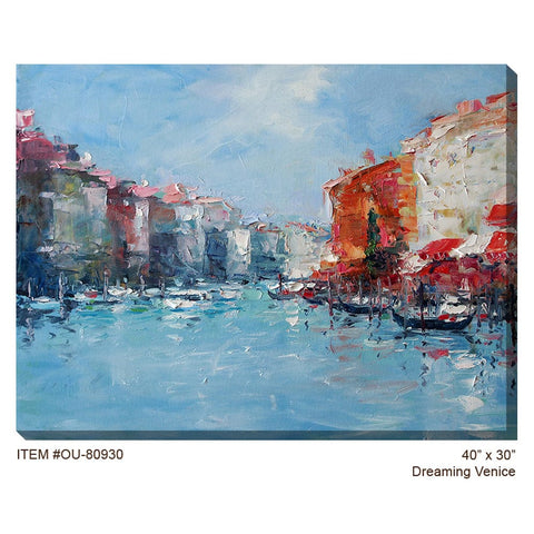Dreaming Venice Outdoor Canvas Art - Outdoor Art Pros