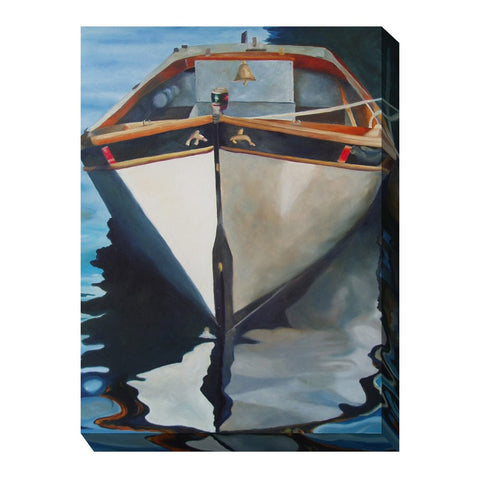 Captain's Gig Outdoor Canvas Art - Outdoor Art Pros