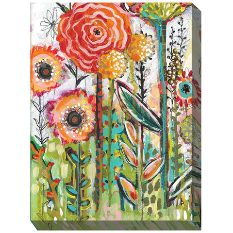 Oh Happy Day Outdoor Canvas Art - Outdoor Art Pros