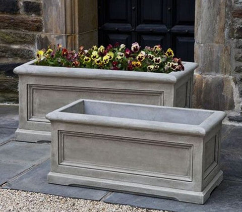 Orleans Window Box - Outdoor Art Pros