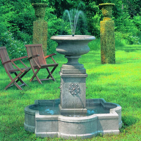 Palazzo Urn Outdoor Water Fountain - Outdoor Art Pros