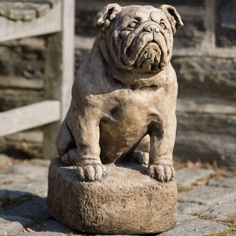Petey Cast Stone Garden Statue - Outdoor Art Pros