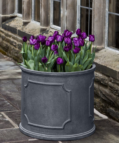 Portsmouth Round Lead Lite Planter - Extra Large - Outdoor Art Pros