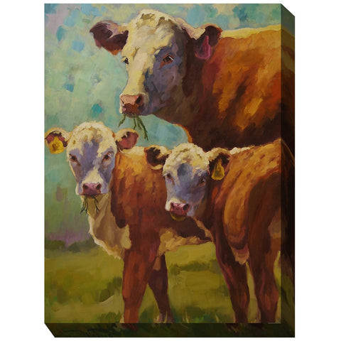 Proud Mama Outdoor Canvas Art - Outdoor Art Pros