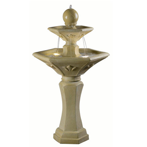 Provence Outdoor Solar Fountain - Outdoor Art Pros