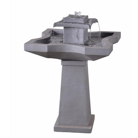 Quad Outdoor Floor Fountain - Outdoor Art Pros