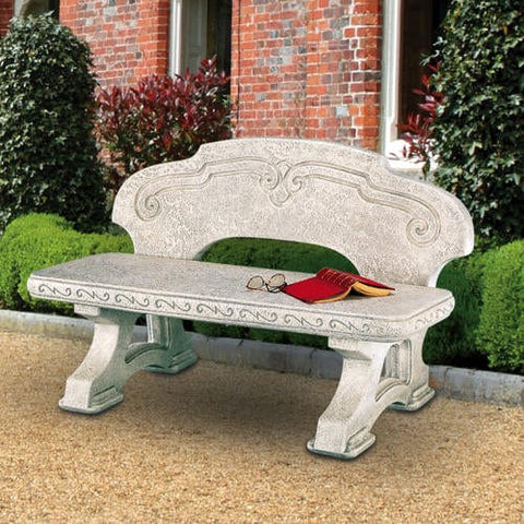 Riolo Garden Bench  - Outdoor Art Pros