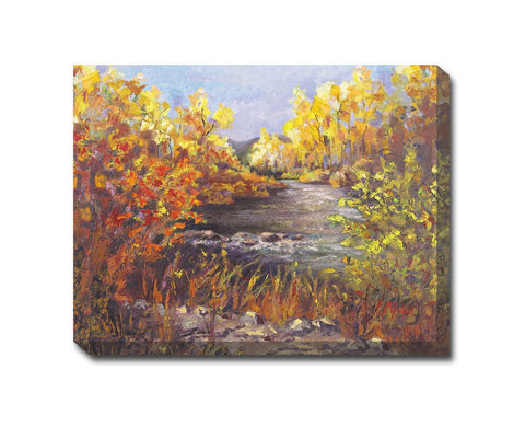 River Rapture Outdoor Canvas Art