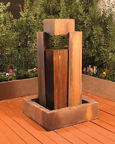 Rocket Garden Water Fountain - Fountains - Outdoor Art Pros