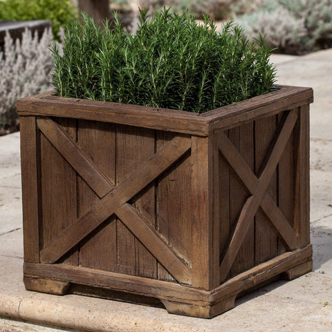 Rustic Versaille Garden Planter - Outdoor Art Pros
