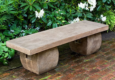 Ryokan Garden Bench - Outdoor Art Pros