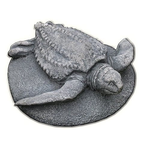 Sea Turtle Cast Stone Garden Statue - Outdoor Art Pros