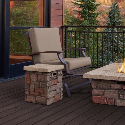 Sedona Propane Tank Cover - Outdoor Art Pros