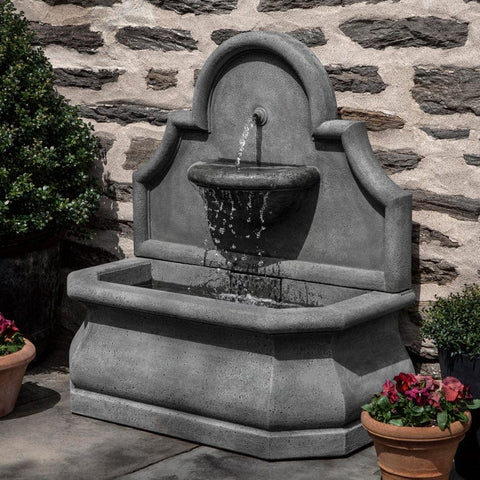 Segovia Wall Outdoor Fountain - Outdoor Art Pros