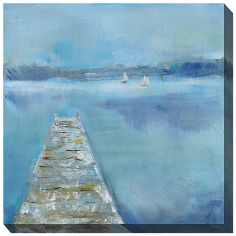 Shakey Dock Outdoor Canvas Art - Outdoor Art Pros