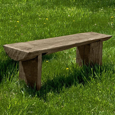 Campania Small Bois Garden Bench - Outdoor Art Pros