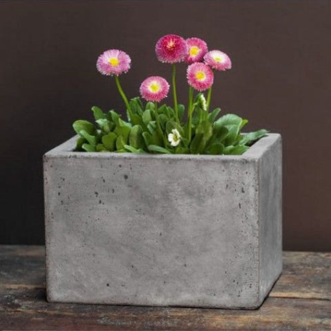 Small Geo Planter - Set of Four - Outdoor Art Pros