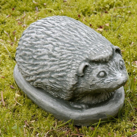Hedgehog Small Cast Stone Garden Statue - Outdoor Art Pros