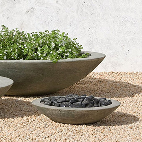 Low Zen Small Planter Bowl - Outdoor Art Pros