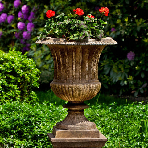 Smithsonian Classical Urn Garden Planter - Outdoor Art Pros