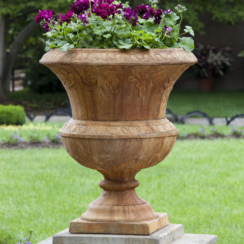 Smithsonian Flight of Fancy Urn Garden Planter - Outdoor Art Pros