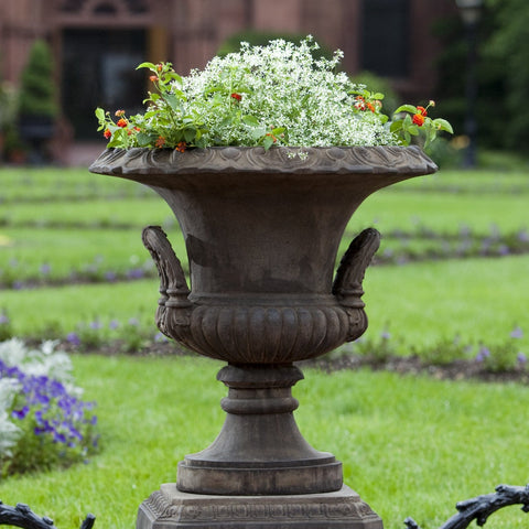 Smithsonian L'Enfant Urn Garden Planter - Outdoor Art Pros