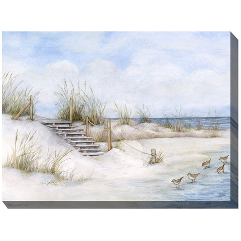 Soft Sands Outdoor Canvas Art - Outdoor Art Pros