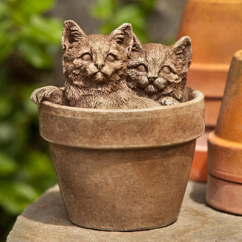 Sprouts Cast Stone Garden Statue - Outdoor Art Pros