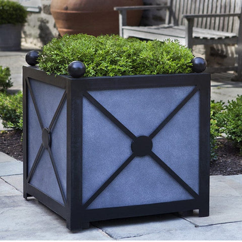 Square Villandry Planter - Medium - Lightweight Planters - Outdoor Art Pros